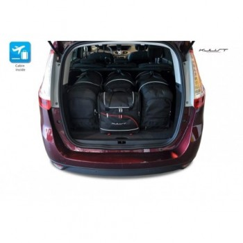 Kit de maletas a medida para Renault Grand Scenic (2009-2016)