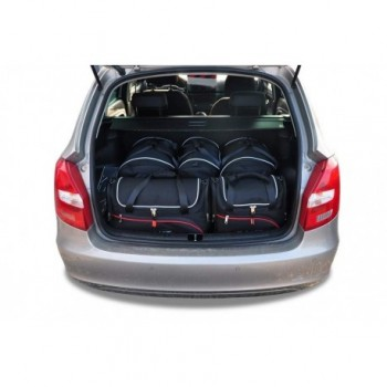 Kit de maletas a medida para Skoda Fabia Combi (2008 - 2015)
