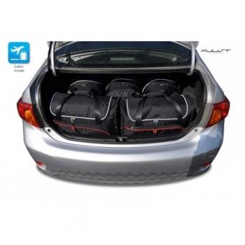 Kit de maletas a medida para Toyota Corolla (2007 - 2012)