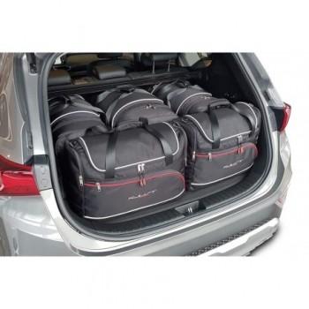 Kit maletas a medida para Hyundai Santa Fé, 5 asientos (2018 - actualidad)