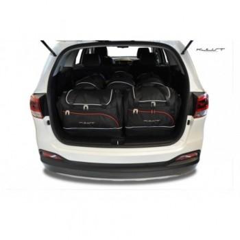 Kit maletas a medida para Kia Sorento 7 plazas (2015 - actualidad)