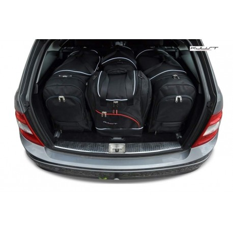Kit maletas a medida para Mercedes Clase-C S204 Familiar (2007 - 2014)