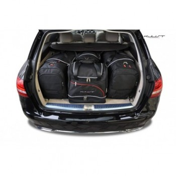 Kit maletas a medida para Mercedes Clase-C S205 Familiar (2014 - actualidad)