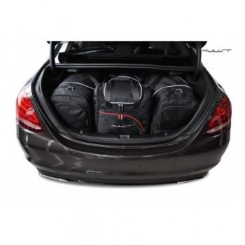 Kit maletas a medida para Mercedes Clase-C W205 Sedan (2014 - actualidad)