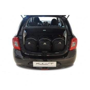 Kit maletas a medida para Nissan Micra (2011 - 2013)