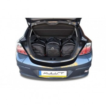 Kit maletas a medida para Opel Astra H, 3 puertas (2004 - 2010)