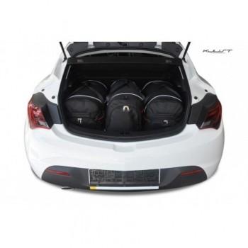 Kit maletas a medida para Opel Astra J, 3 puertas (2009 - 2015)