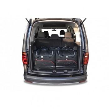 Kit maletas a medida para Volkswagen Caddy 4K, 5 asientos (2016-actualidad)