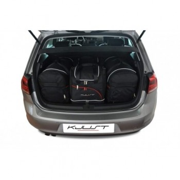 Kit maletas a medida para Volkswagen Golf 7 (2012 - actualidad)