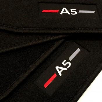 Alfombrillas Audi A5 8TA Sportback (2009 - 2017) a medida logo