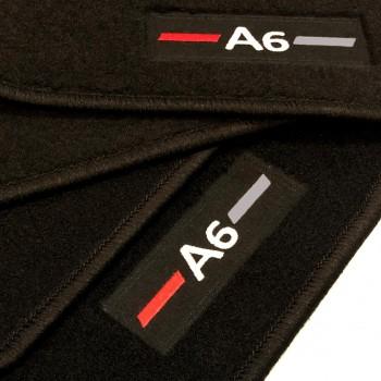 Alfombrillas Audi A6 C6 Avant (2004 - 2008) a medida logo