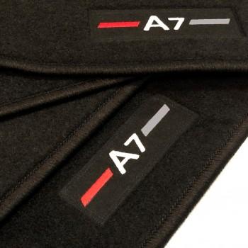 Alfombrillas Audi A7 (2017-actualidad) a medida S-line