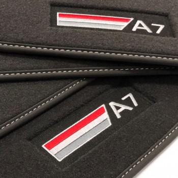 Alfombrillas Audi A7 (2017-actualidad) Velour S-line