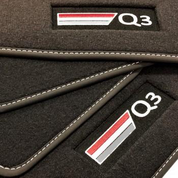 Alfombrillas Audi Q3 Velour logo (2011-2018)
