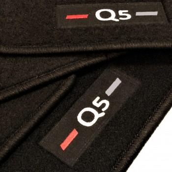 Alfombrillas Audi Q5 FY (2017 - actualidad) a medida logo