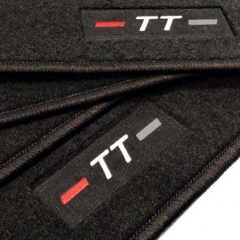 Alfombrillas Audi TT 8S (2014 - actualidad) a medida logo