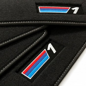 Alfombrillas BMW Serie 1 F20 5 puertas (2011 - 2018) Velour M Competition