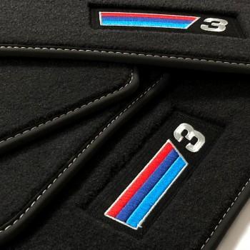 Alfombrillas BMW Serie 3 F30 Berlina (2012 - 2019) Velour M Competition