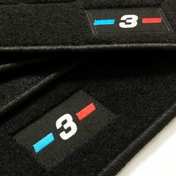 Alfombrillas BMW Serie 3 GT F34 Restyling (2016 - actualidad) a medida logo