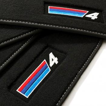 Alfombrillas BMW Serie 4 F32 Coupé (2013 - actualidad) Velour M Competition