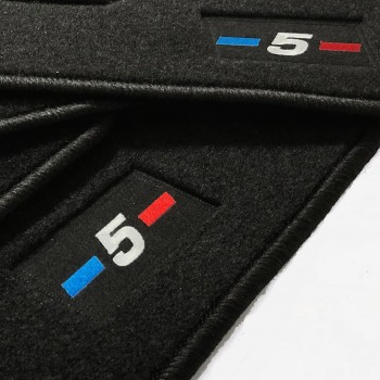 Alfombrillas BMW Serie 5 F11 Restyling Touring (2013 - 2017) a medida logo