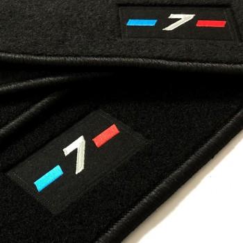 Alfombrillas BMW Serie 7 F01 corto (2009-2015) a medida logo