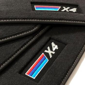 Alfombrillas BMW X4 G02 (2018-actualidad) Velour M-Competition