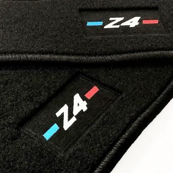 Alfombrillas BMW Z4 E85 (2002 - 2009) a medida logo