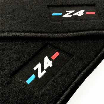 Alfombrillas BMW Z4 E89 (2009 - 2018) a medida logo