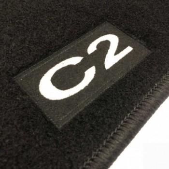 Alfombrillas Citroen C2 a medida Logo