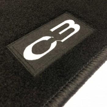 Alfombrillas Citroen C3 (2009 - 2013) a medida Logo
