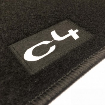 Alfombrillas Citroen C4 (2004 - 2010) a medida Logo