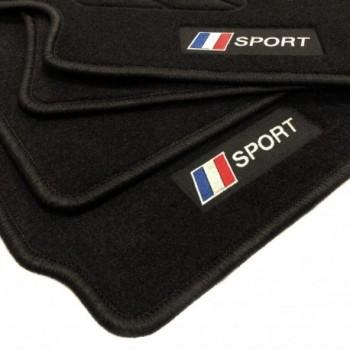 Alfombrillas bandera Francia Peugeot 206 (2009 - 2013)