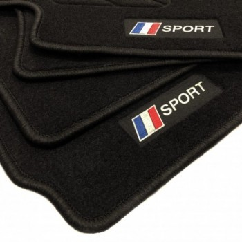 Alfombrillas bandera Francia Peugeot iOn