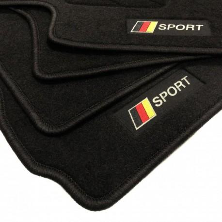 Alfombrillas bandera Alemania Porsche Macan