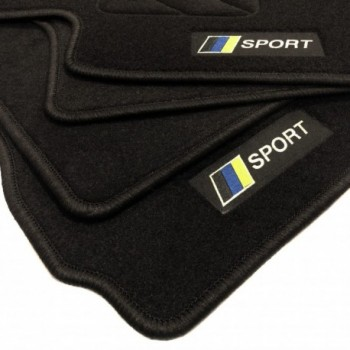 Alfombrillas bandera Racing Volvo S40 (2004-2012)