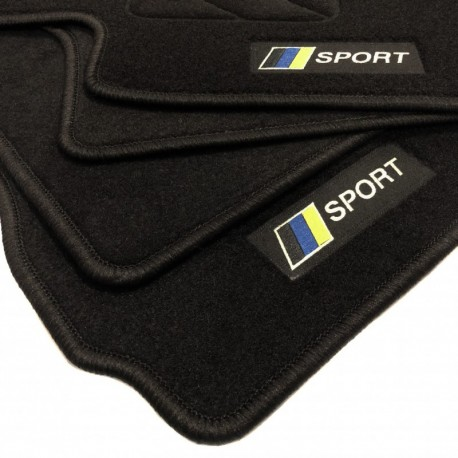 Alfombrillas bandera Racing Volvo V70 (2000 - 2007)