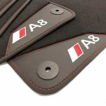 Alfombrillas Coche Audi A8 D3 / 4E (2003-2010)