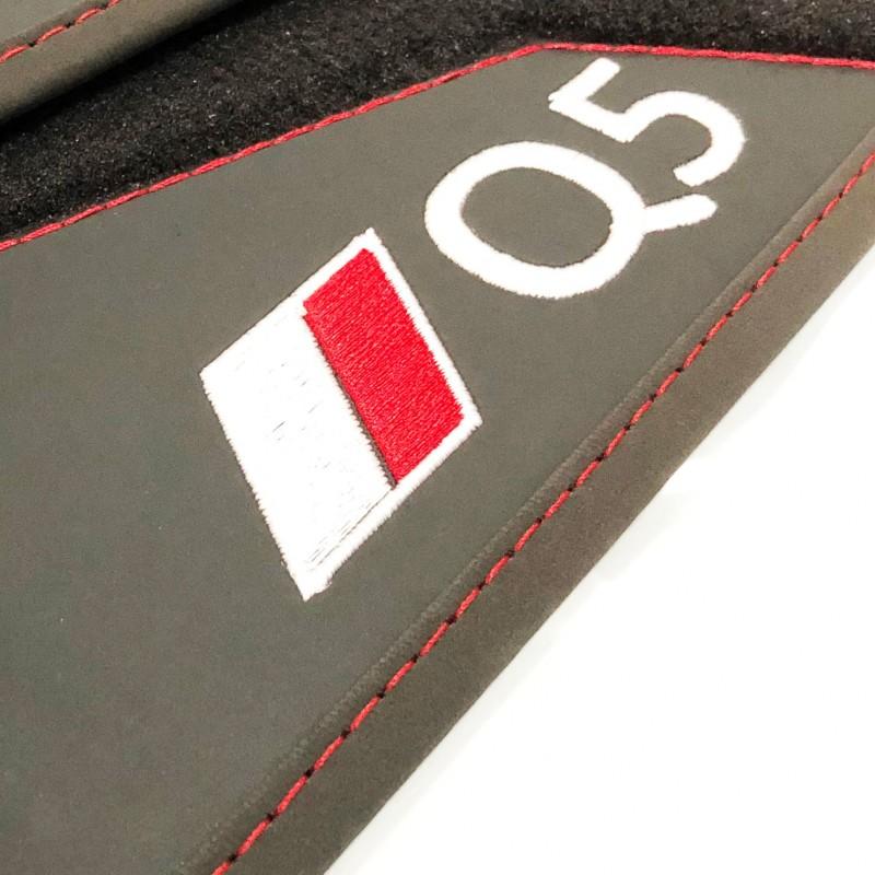 Velour S-Line Alfombrillas Audi Q5 8R 2008-2016 Rey Alfombrillas/®