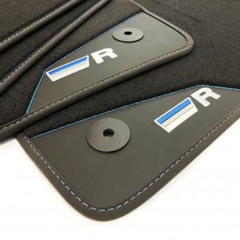 Alfombrillas Coche Volkswagen Sharan 5 plazas (2010 - actualidad) acabado R-Line Azul