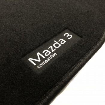 Alfombrillas Mazda 3 (2013 - 2017) a medida Logo