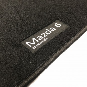 Alfombrillas Mazda 6 Wagon (2017 - actualidad) a medida Logo