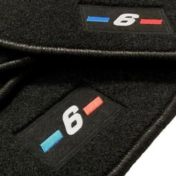 Alfombrillas BMW Serie 6 F12 Cabrio (2011 - actualidad) a medida logo