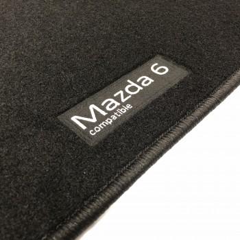 Alfombrillas Mazda 6 (2002 - 2008) a medida Logo