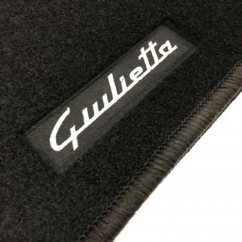 Alfombrillas Alfa Romeo Giulietta (2014 - actualidad) a medida Logo