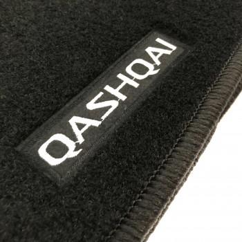 Alfombrillas Nissan Qashqai (2007 - 2010) a medida Logo