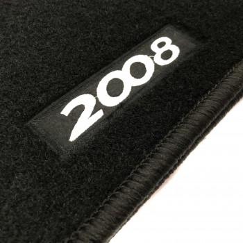 Alfombrillas Peugeot 2008 (2013 - 2016) a medida Logo