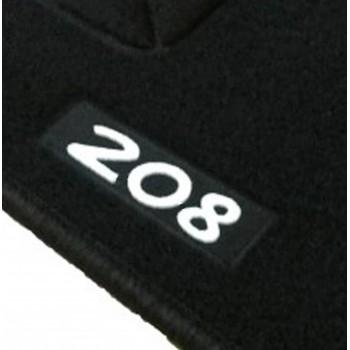 Alfombrillas Peugeot 208 a medida Logo (2012-2019)