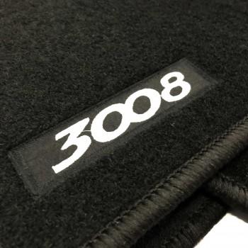 Alfombrillas Peugeot 3008 (2016 - actualidad) a medida Logo