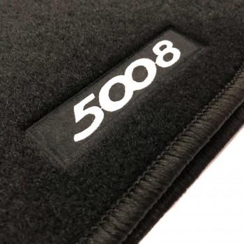 Alfombrillas Peugeot 5008 7 plazas (2017 - actualidad) a medida Logo